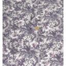 crêpe viscose coton imprimé violet gris