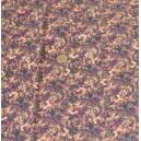 crêpe viscose coton imprimé marron